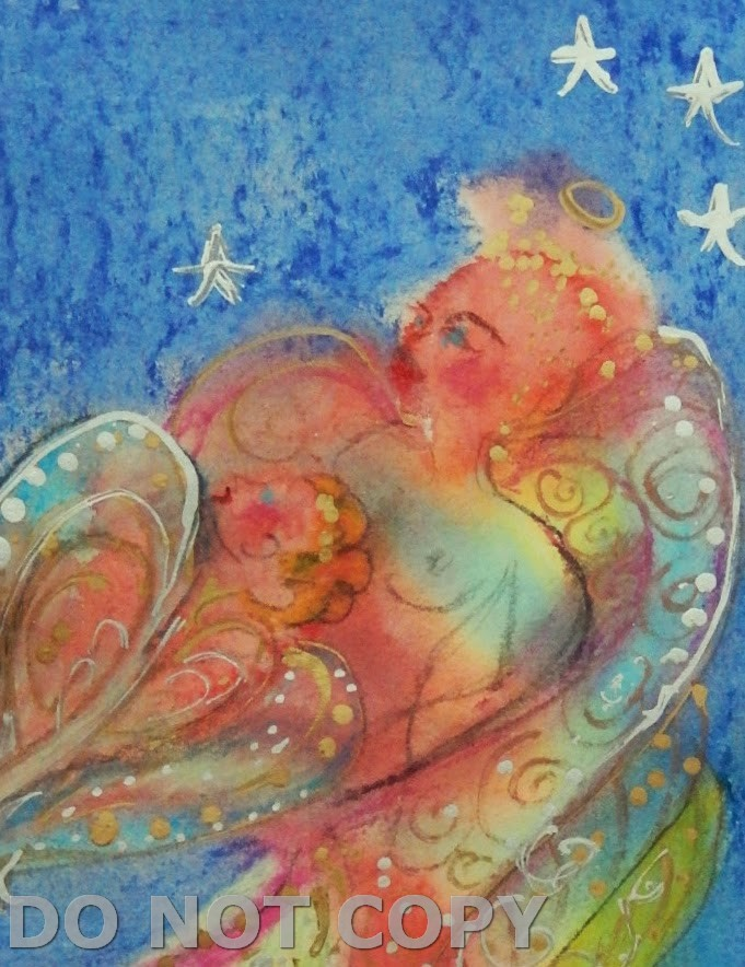 ANGEL OF MOTHER LOVE